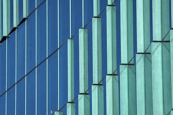 Photograph - Midtown Center Windows Abstract #2 - Washington by Stuart Litoff