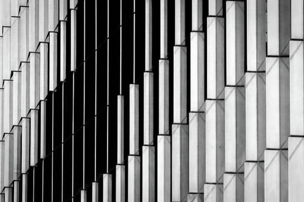 Photograph - Midtown Center Windows Abstract - Washington by Stuart Litoff