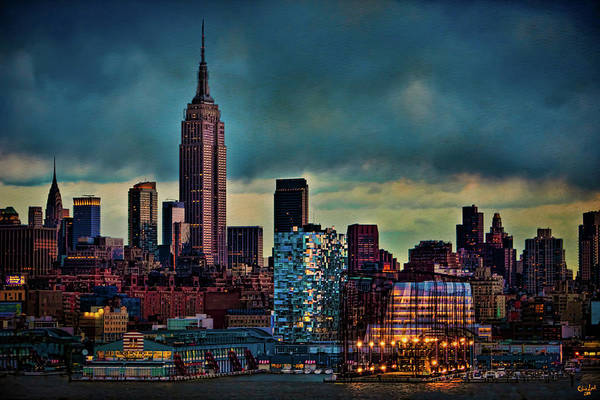 Photograph - Midtown Manhattan Sunset by Chris Lord