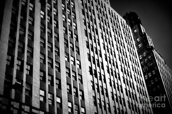 Photograph - Midtown Noir by John Rizzuto