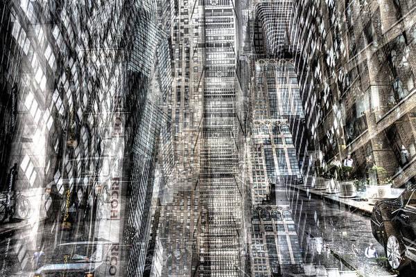 Photograph - Midtown Sidestreet by Dave Beckerman