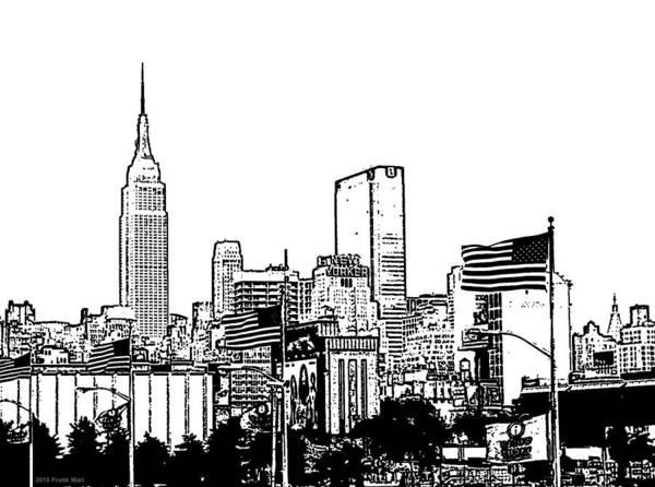 Photograph - Midtown Skyline 1.0 - Nyc by Frank Mari