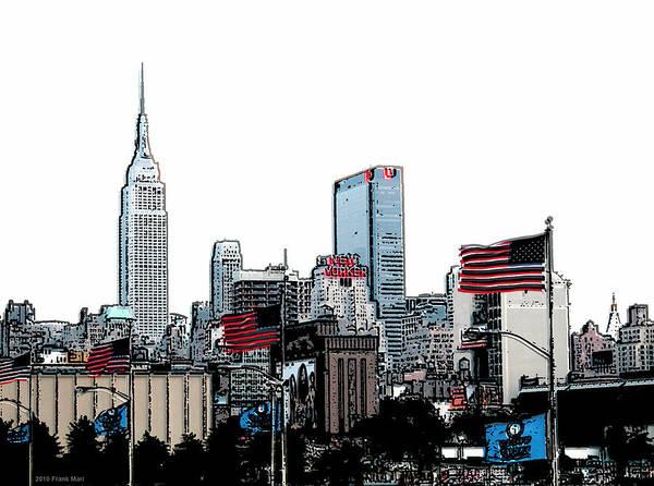 Photograph - Midtown Skyline 1.1 - Nyc by Frank Mari