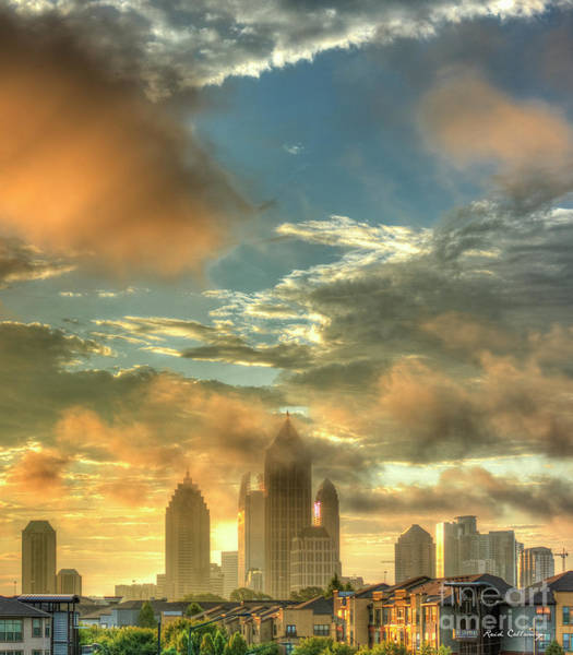 Atlanta Symphony Orchestra Photograph - Atlanta Sunrise 7 Atlantic Station Art by Reid Callaway