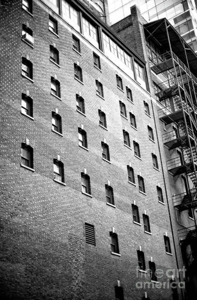 Photograph - Midtown Window Patterns by John Rizzuto