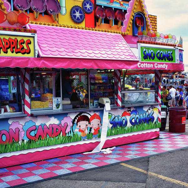Photograph - Midway Junk Food by Trever Miller