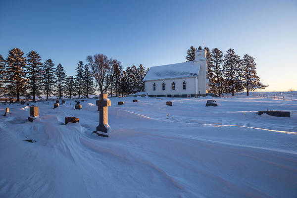 Photograph - Midway Lutheran Church by Aaron J Groen