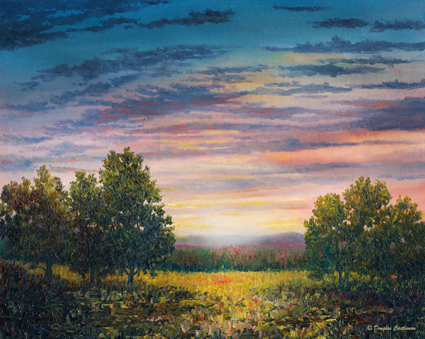 Painting - Midwest Evening by Douglas Castleman