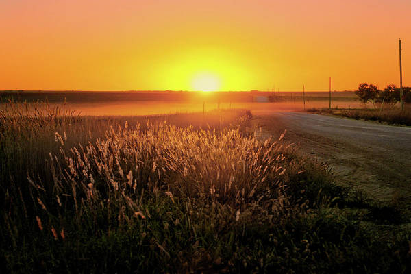 Wall Art - Photograph - Midwest Sunset by Nikolyn McDonald