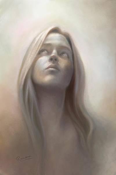Relief Digital Art - Miesiekind by Ramona MacDonald