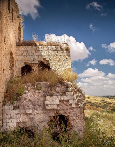 Photograph - Migdal Tzedek Ruins 6 by Endre Balogh