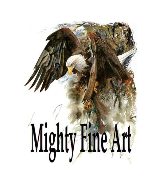 Digital Art - Mighty Fine Art Tee by Peter Williams