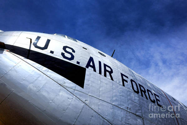 Cargo Plane Wall Art - Photograph - Mighty Us Air Force  by Olivier Le Queinec