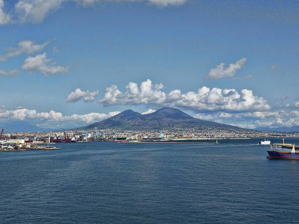 Photograph - Mighty Vesuvius by S Paul Sahm