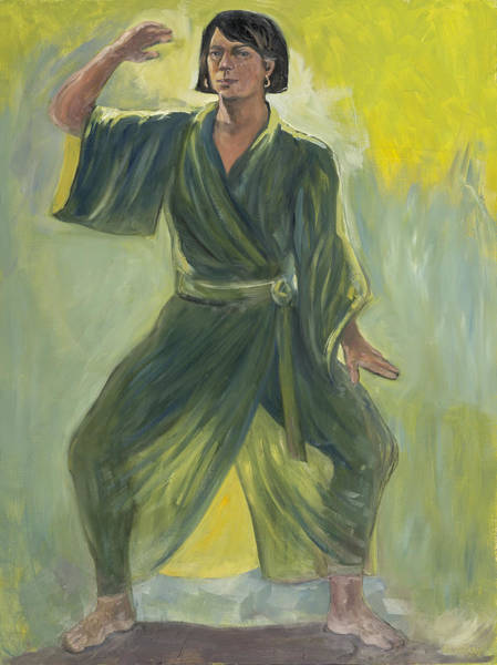 Painting - Mighty Woman Kick-butt by Laura Lee Cundiff