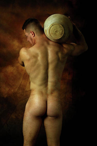 Erotic Photograph - Mike 9  by Mark Ashkenazi
