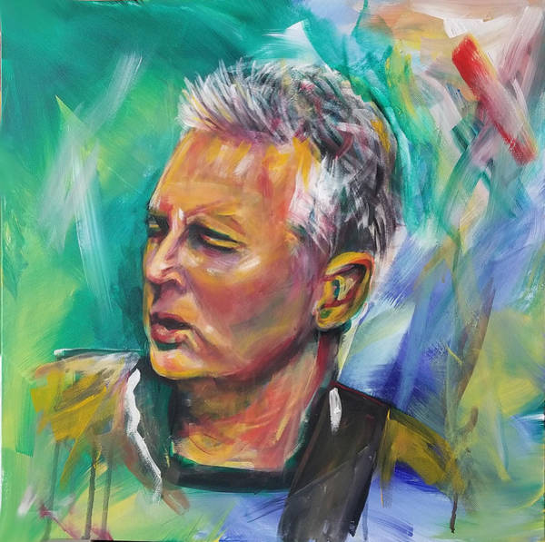Pearl Jam Painting - Mike Mccready by Toblerusse