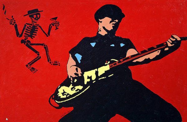 Punk Painting - Mike Ness by Steven Sloan