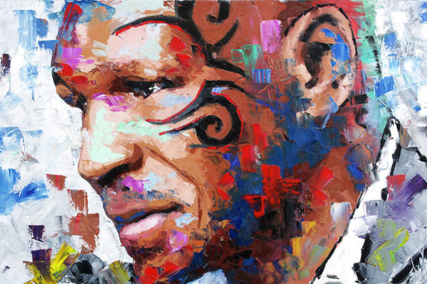 Wall Art - Painting - Mike Tyson II by Richard Day