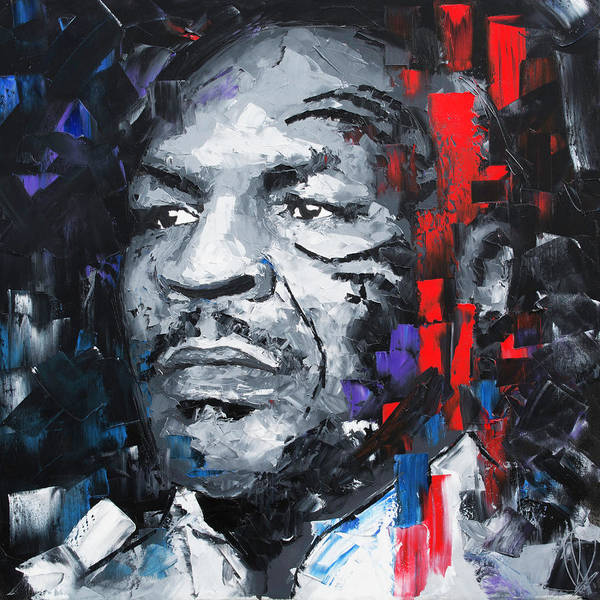 Wall Art - Painting - Mike Tyson by Richard Day