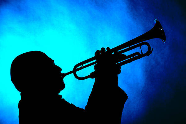 Photograph - Mike Vax Professional Trumpet Player Photographic Print 3764.02 by M K Miller