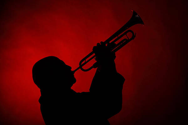 Photograph - Mike Vax Professional Trumpet Player Photographic Print 3769.02 by M K Miller