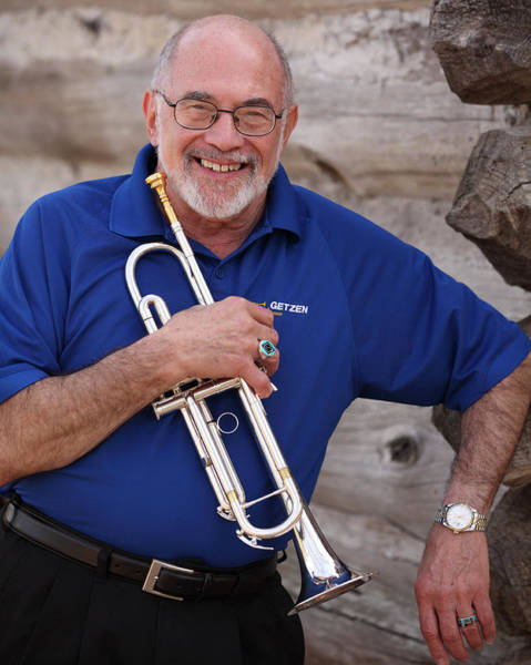 Photograph - Mike Vax Professional Trumpet Player Photographic Print 3770.02 by M K Miller
