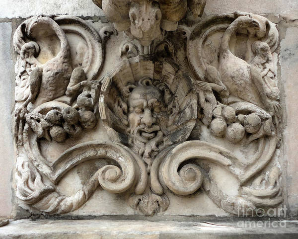 Photograph - Milan Cathedral Architectural Detail by Gregory Dyer