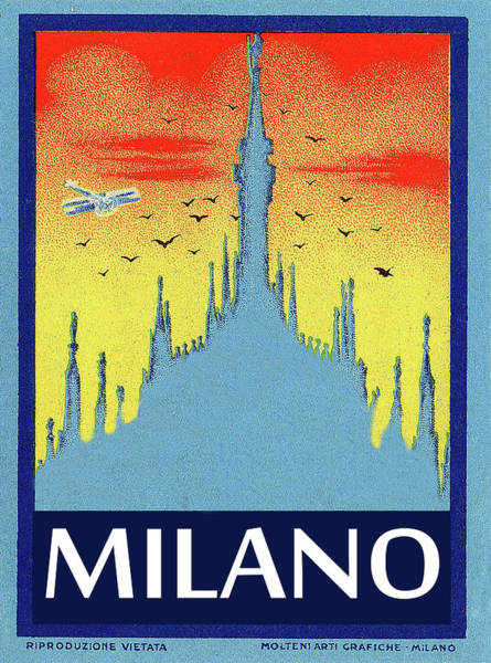 Wall Art - Painting - Milan Cathedral, Italy by Long Shot