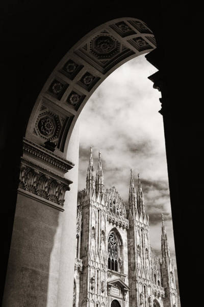 Photograph - Milan Cathedral  by Songquan Deng