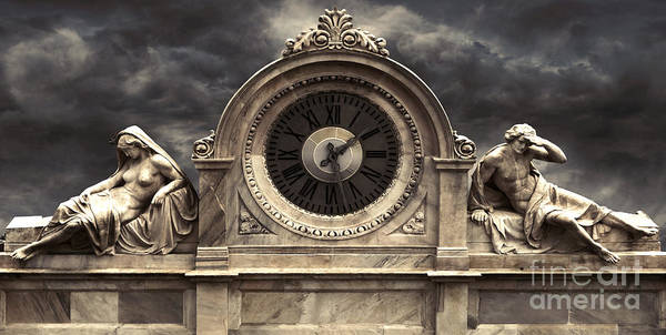 Photograph - Milan Clock by Gregory Dyer