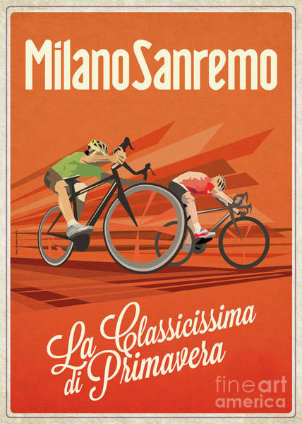 Wall Art - Digital Art - Milan San Remo by Sassan Filsoof