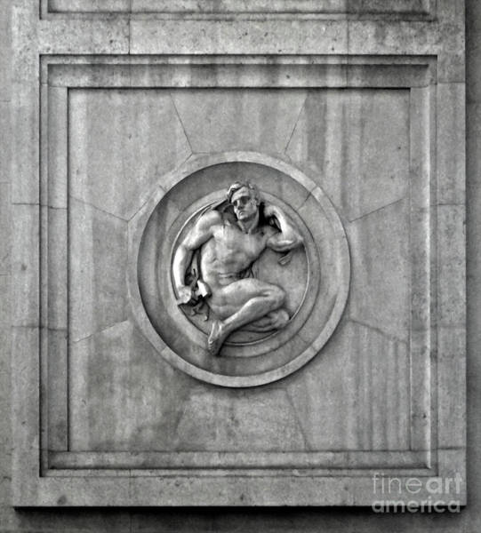 Photograph - Milan Train Station Detail by Gregory Dyer