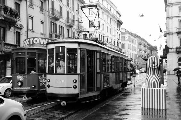 Photograph - Milan Trolley 1b by Andrew Fare