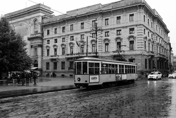 Photograph - Milan Trolley 2b by Andrew Fare