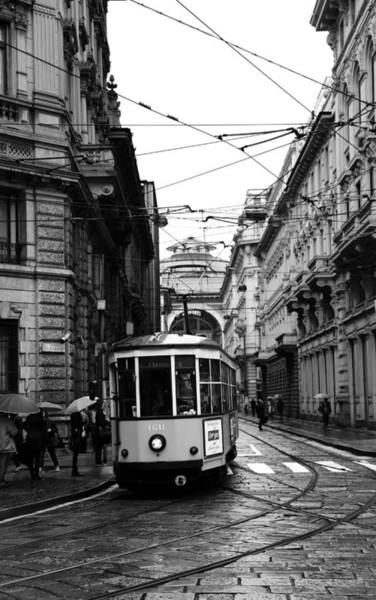 Photograph - Milan Trolley 3b by Andrew Fare