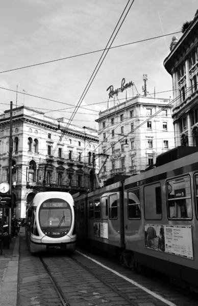 Photograph - Milan Trolley 4b by Andrew Fare