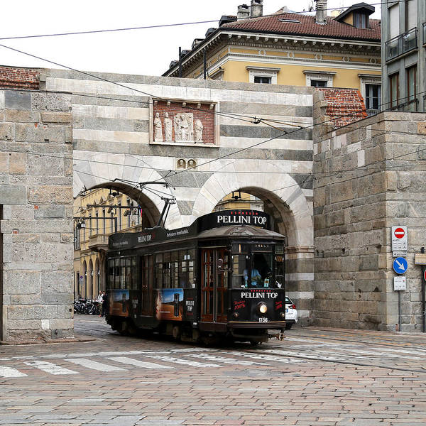 Photograph - Milan Trolley 5 by Andrew Fare