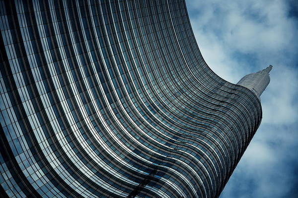 Photograph - Milan Unicredit Tower by Songquan Deng