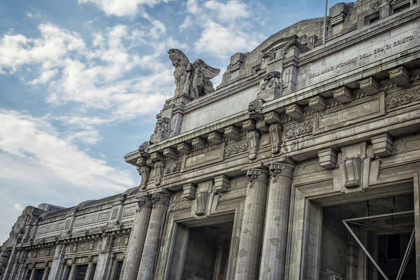 Railway Station Photograph - Milano Centrale by Joan Carroll