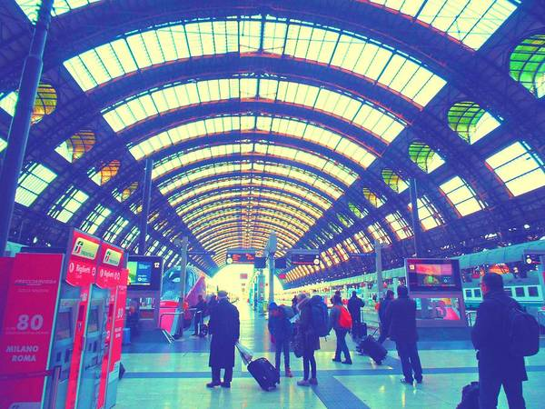 Photograph - Milano Centrale by Michelle Dallocchio