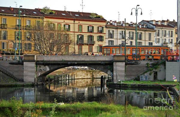 Photograph - Milano - Darsena - Porto Commerciale by Carlos Alkmin