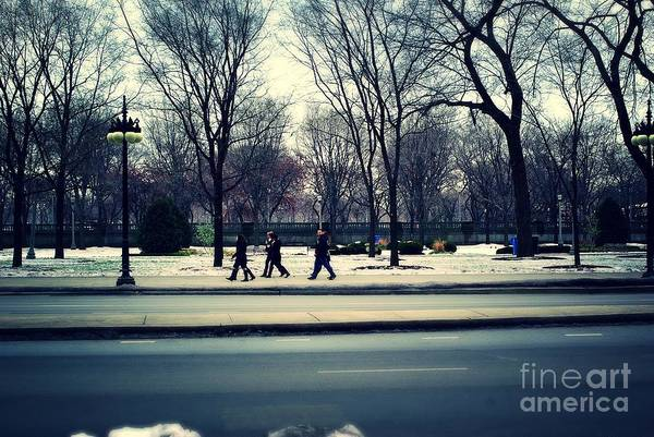 Photograph - Mild Winter Chicago by Frank J Casella
