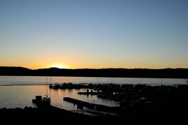 Photograph - Mile High Marina Sunset 14 by Jerry Sodorff