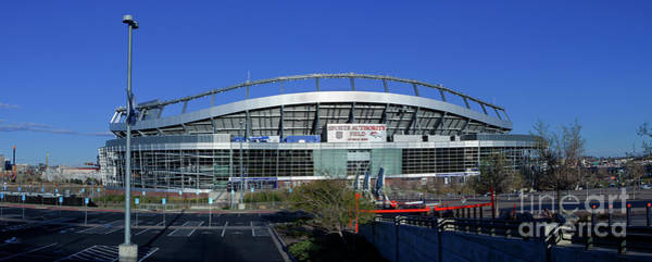 Boise State Broncos Photograph - Mile High Stadium In Denver by Anthony Totah