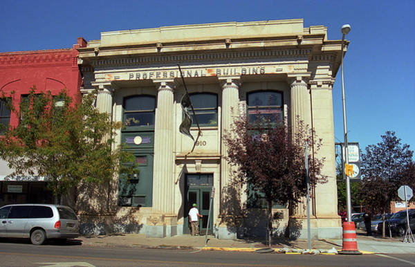 Wall Art - Photograph - Miles City, Montana - Professional Building by Frank Romeo