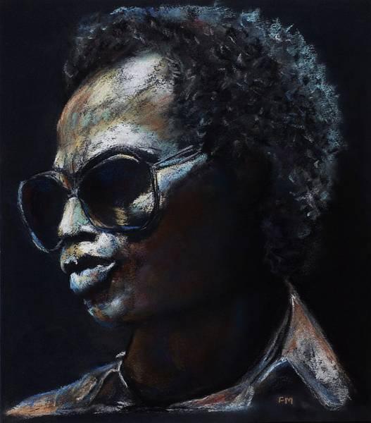 Miles Davis Painting - Miles Davis by Frances Marino