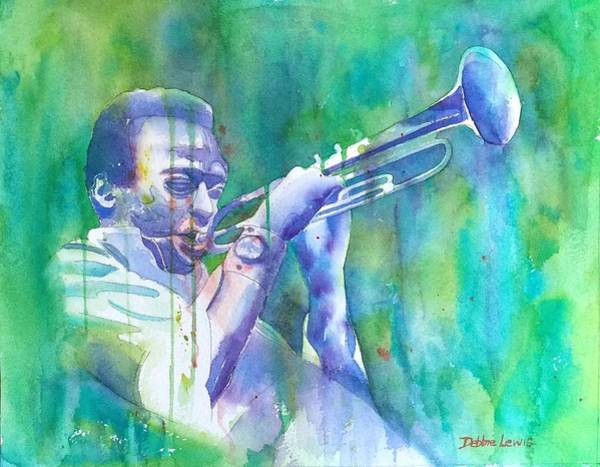 Painting - Miles Is Cool by Debbie Lewis