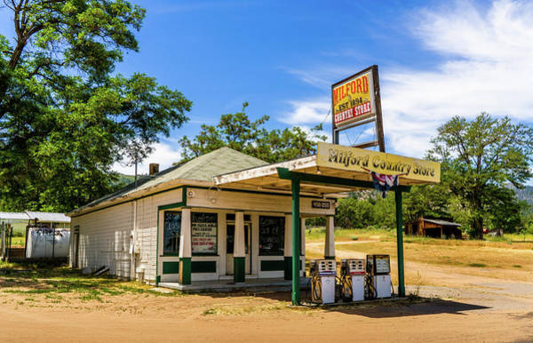 Photograph - Milford Country Store by TL Mair
