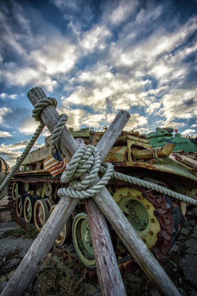 Wall Art - Photograph - Military Armored Vehicle by Mike Burgquist
